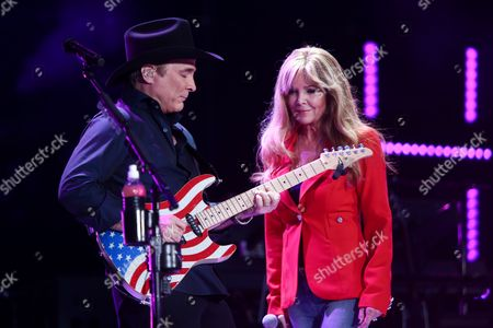 Stock Photo of Clint Black, Lisa Hartman Black