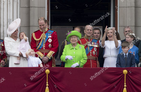 Editorial photo of Trooping The Colour - The Queen's Birthday Parade, London, UK - 11 Jun 2016
