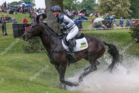 ANNIE CLOVER ridden by Nicola Wilson at Bramham International Horse Trials 2016 at  at Bramham Park, Bramham
