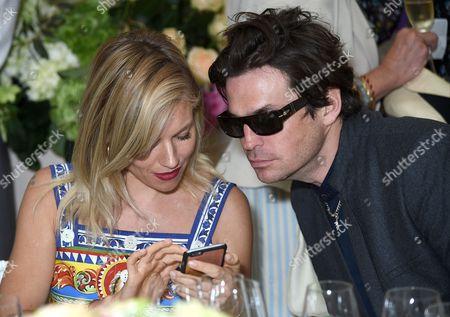 Sienna Miller and Hugo Heathcote