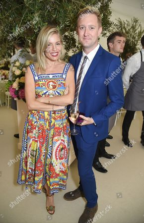 Stock Photo of Sienna Miller and Dean Piper