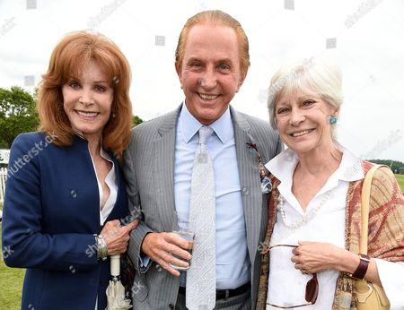 Stock Photo of Stefanie Powers, Geoffrey Kent and Greta Morrison