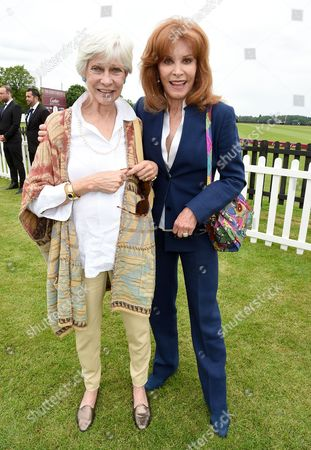 Greta Morrison and Stefanie Powers