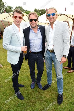 James Blunt, John Hitchcox and Jake Parkinson-Smith