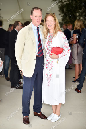 Stock Photo of Lord Clifton Wrottesley and Lady Sascha Wrottesley