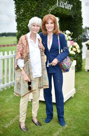 Stock Picture of Greta Morrison and Stefanie Powers