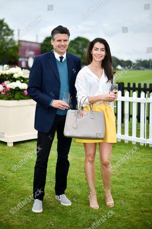 Stock Photo of Ed Taylor and Manuela Londono