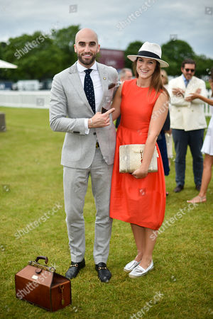 Stock Image of Drummond Money-Coutts and Sophia Money-Coutts