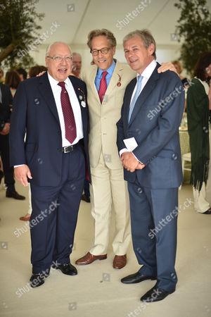 Urs Ernst Schwarzenbach, Lord March and Charlie Gordon-Watson