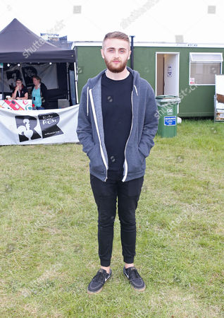 Howard Lawrence of Disclosure backstage at Wild Life festival in Brighton
