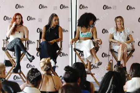 Stock Image of Zoe Silverman, Jasmine Solano, Kitty Cash, Chelsea Leyland