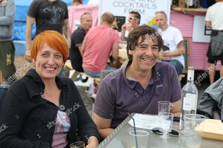 Comedian Mark Steel comes to Brighton's Big Screen Events match showing at Madeira Drive, to watch England and Russia at Stade Velodrome, Marseille
