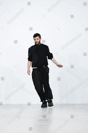 Nasir Mazhar on the catwalk