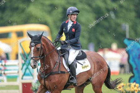 ONE TWO MANY ridden by Nicola Wilson competing in the show jumping at Bramham International Horse Trials 2016 at  at Bramham Park, Bramham
