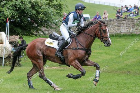 ONE TWO MANY ridden by Nicola Wilson at Bramham International Horse Trials 2016 at  at Bramham Park, Bramham