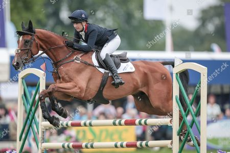 PAMERO 4 ridden by Laura Collett at Bramham International Horse Trials 2016 at  at Bramham Park, Bramham