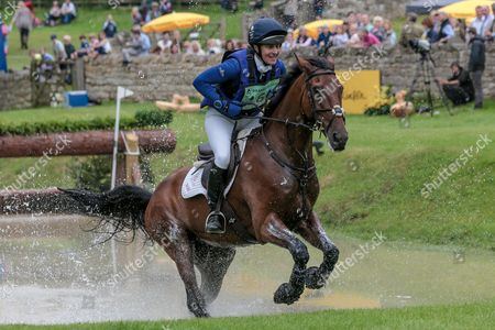 CALVINO II ridden by Kristina Cook atBramham International Horse Trials 2016 at  at Bramham Park, Bramham