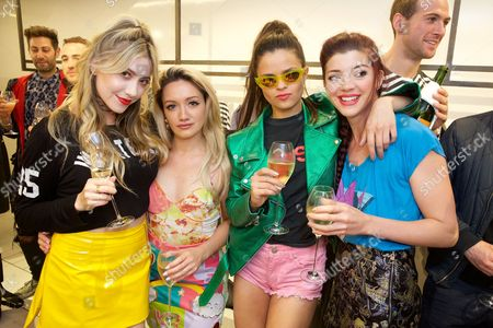 Stock Photo of Liz Y2K, Louby McLoughlin, Bip Ling and Guest