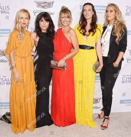 Rachel Zoe, Selma Blair, Rebecca Gayheart, Liz Carey, Elizabeth Berkley