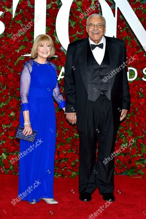 Stock Image of Cecilia Hart and James Earl Jones