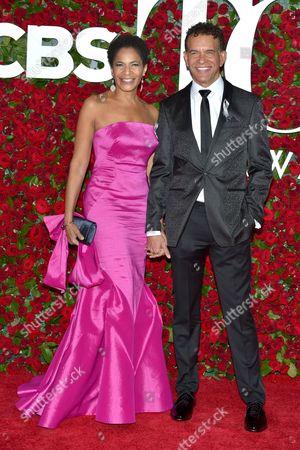 Editorial image of American Theatre Wing's 70th Annual Tony Awards, Arrivals, Beacon Theatre, New York, USA - 12 Jun 2016