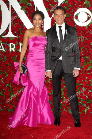 Allyson Tucker and Brian Stokes Mitchell