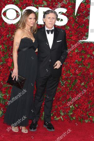 Hannah Beth King and Gabriel Byrne