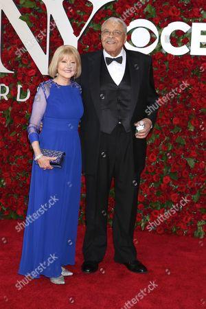 Cecilia Hart and James Earl Jones