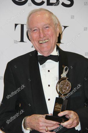 Editorial image of American Theatre Wing's 70th Annual Tony Awards, Press Room, Beacon Theatre, New York, USA - 12 Jun 2016