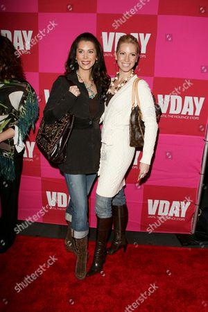Brandi Sherwood and Liza Huber