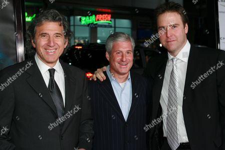 Stock Photo of Armyan Bernstein, Charles Lyons & Basil Iwanyk
