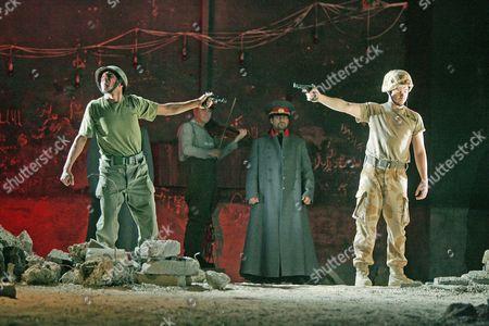 The Soldier's Tale at the Old Vic - Ala'a Rasheed, Ciaran McMenamin