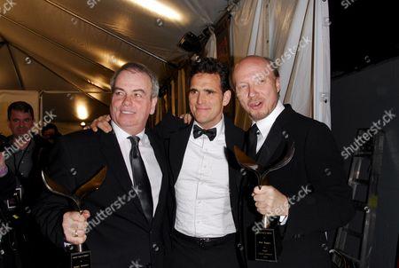 Bobby Moresco, Matt Dillon and Paul Haggis