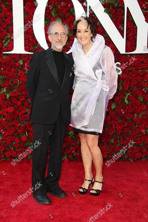 Editorial picture of American Theatre Wing's 70th Annual Tony Awards, Arrivals, Beacon Theatre, New York, USA - 12 Jun 2016