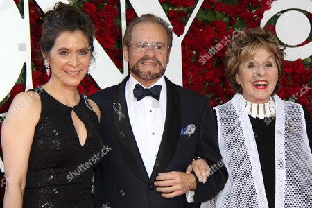 Stock Picture of Diane Paulus, Barry Weissler, Fran Weissler