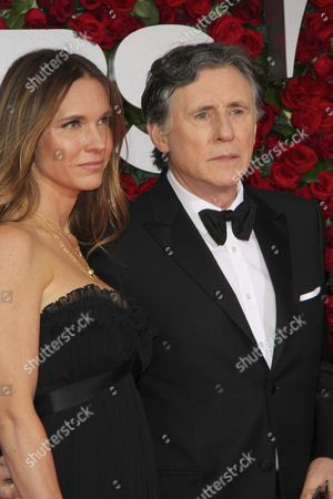 Stock Picture of Hannah Beth King and Gabriel Byrne