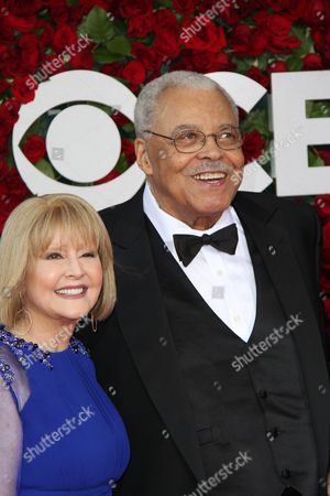 Stock Photo of Cecilia Hart and James Earl Jones