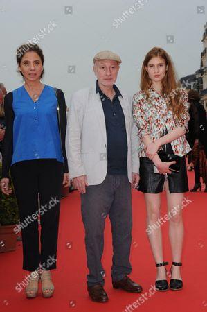 Pascal Bonitzer and Agathe Bonitzer
