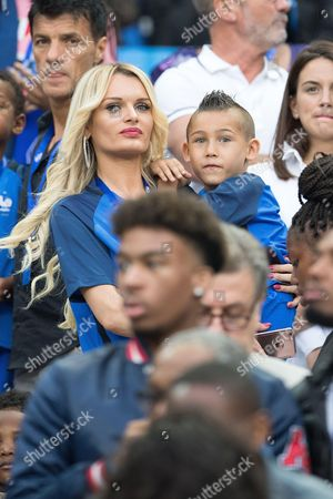 Ludivine Payet and son Noa