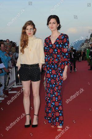 Agathe Bonitzer and Julia Faure