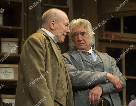 Stock Picture of Christopher Timothy as Jim Heeler, Martin Shaw as Henry Hobson