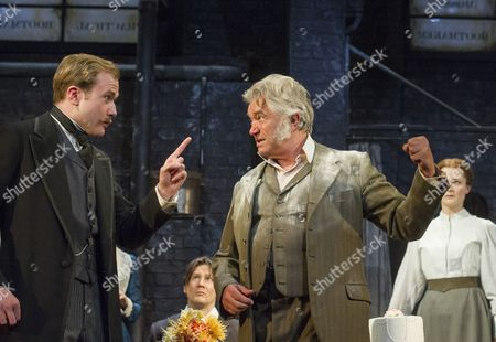 Stock Image of Joe Bannister as Albert Prosser, Martin Shaw as Henry Hobson