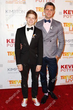 Andrew Keenan-Bolger, Scott Bixby