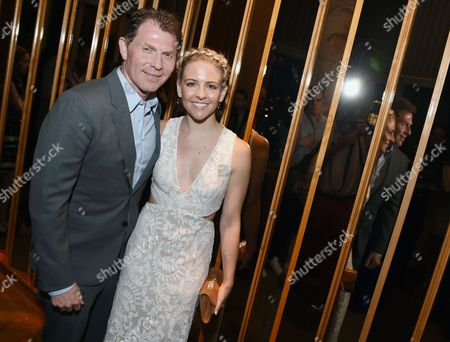 Bobby Flay and Helene York