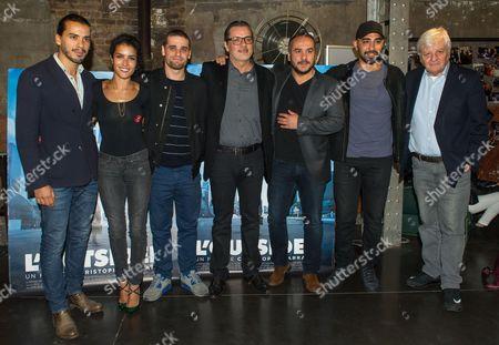 Sabrina Ouazani, Arthur Dupont, Christophe Barratier, Francois Xavier Demaison, Mhamed Arezki, Jacques Perrin
