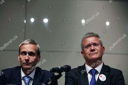 Stock Picture of David Nuttall M.P. and Andrew Rosindell M.P.
