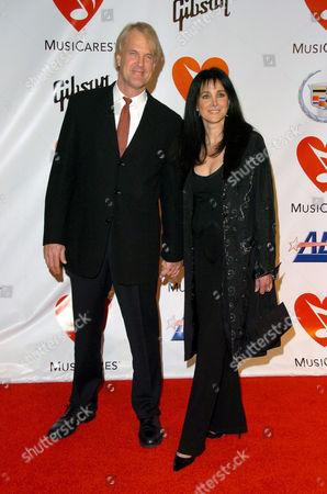 John Tesh and Connie Selleca