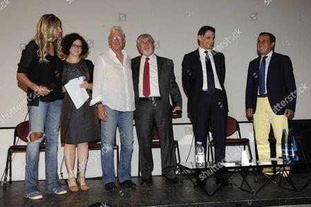Richard Gere, Tiziana Rocca, Cristina Avonto, Giuliano Poletti and Alderman Anthony Barbagallo