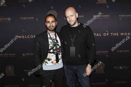 Ash Pournouri and Daniel Ek