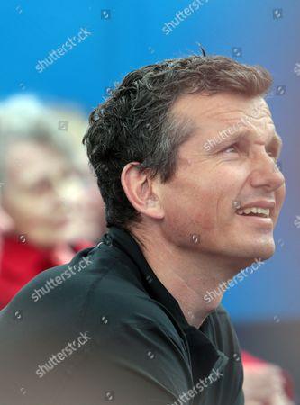 Richard Krajicek of Holland, coach of Stan Wawrinka of Switzerland during ATP/WTA Tennis World Tour 2016 AEGON Championships Day Two at Queens Club, London, United Kingdom - 14 Jun 2016